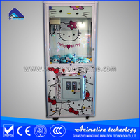 Coin operated toy vending machine toy claw crane machine for sale