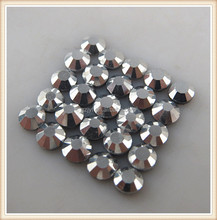 2015 new rushed promotion hematite ss16 Hot Fix Rhinestone strass for garment and apparel decoration