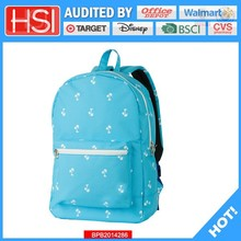 audited factory wholesale price plain volume-discounted backpack bag