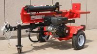 factory price 15HP 40T USED GAS LOG SPLITTER