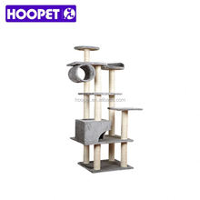 Eco friendly Large deluxe cat tree scratch post for cats