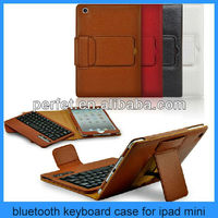 hot pink keyboard case for ipad,orange leather case for ipad with keyboard