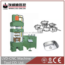 Y27-800 Single-action punching machine main technical parameters, hydraulic oil press machine 200 ton