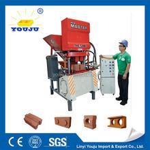 hot sale Eco master 7000 promotion no fire soil coal dust brick making machine