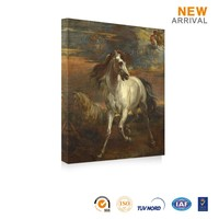 The Latest Abstract Modern Horse Canvas Oil Painting Horse
