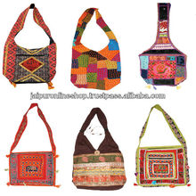 Mix lot of indian handmade cotton bags