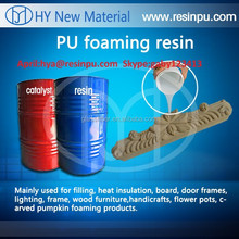 Liquid two component polyurethane resin for Imitation wood furniture