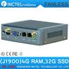 4G RAM 32G SSD Smallest Fanless Mini Nano ITX Idustrial Tablet PC Intel Quad Core J1900 NUC PC