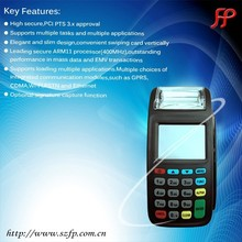 EFT handheld mobile pos machine use coffee shop equipment payment technology