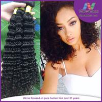 Wholesale Virgin Indian Hair Factory Deep Wave Virgin Indian Hair Organic Shampoo