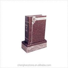Shaped Book Granite Headstone