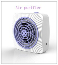 portable car air purifier primary air filter with efficient active carbon filter