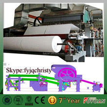 high performance 1092mm toilet tissue paper making machine with lower price