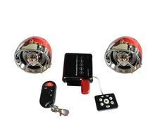 motorcycle mp3 audio anti-theft alarm system