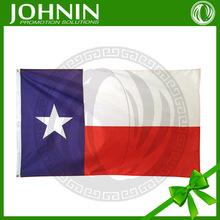wholesale custom 3X5ft 100% polyester American Texas flag