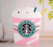 3d cartoon silicone soft starbuck coffee cup phone case cover for ipad 2 3 4