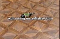 12mm cheap composite decking floating wood tile nature core laminate wood oak color wood flooring