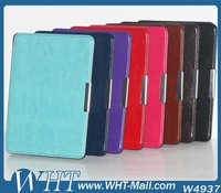 Crazy Horse Skin Texture PU Protective Leather Case for Amazon Kindle e-Book Paperwhite