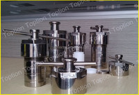 China Stainless Steel hydrothermal synthesis reactors and chemical pressure vessels