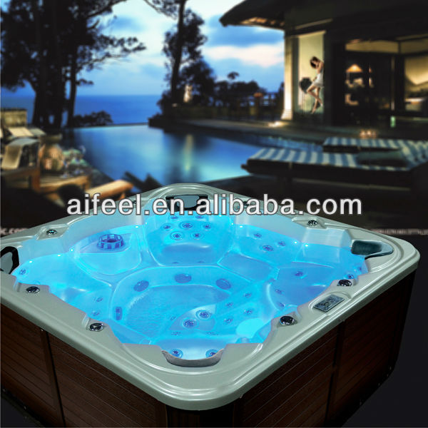 2014 free sex massage bath tub for 3 persons