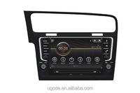 ugode car dvd player auto radio gps navigation bt usb for vw volkswagen Golf7