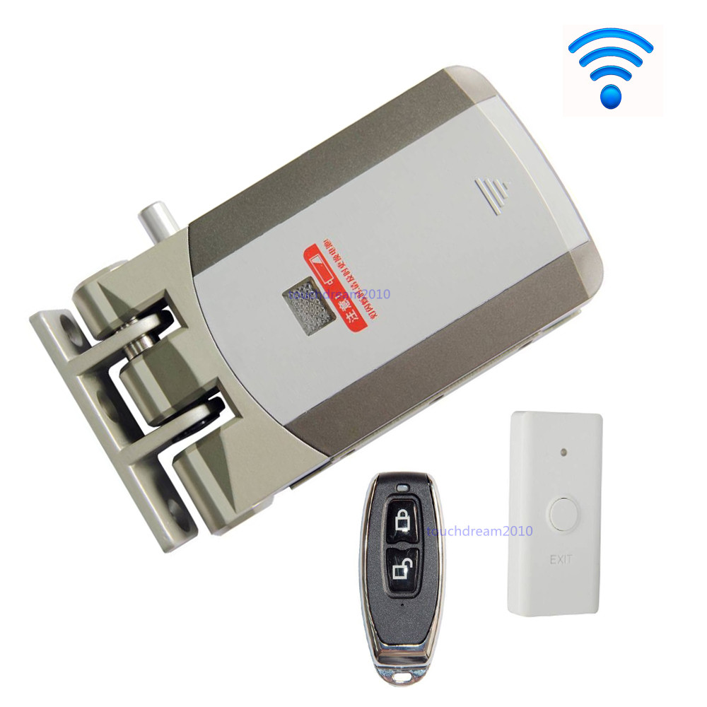 Wireless Door Lock Electric Home Anti Theft Lock For Home