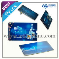 slim credit card usb business card new idea fancy shape 32gb usb flash drive promotional new for free samples