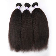Best Vendors Factory Price In Stock Unprocessed 3 Pcs South African Coarse Yaki Hair Extensions