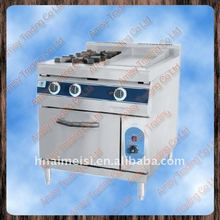 2 head burner 1 pan Gas range, kitchen gas range burner