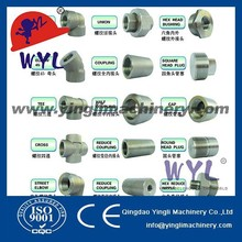 Steel Threaded Pipe Fittings Dimensions