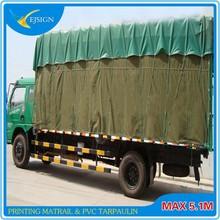 side curtain-printable pvc Tarpaulin for covers