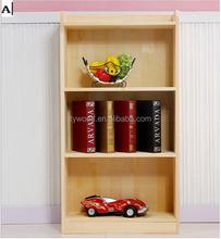 Good design kids toy wooden bookshelf