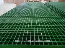 Industrial aislamiento de fibra de vidrio plástico rejilla