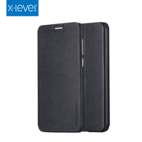 2015 hot selling folding PU leather filp cover for Huawei Honor 4X case with Holder