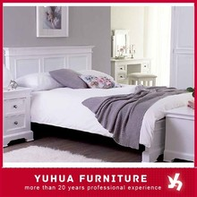 Painted Pine Bed Bedroom Furniture Double Size Bed