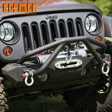 Texture Black Steel front Bumper for Jeep Wrangler 07-14 - COS49131
