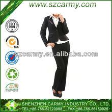 Fine Quality Iron Free Woman's Business Wear Office Lady Uniform