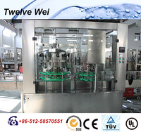 Autlmatic Coco Cola/Soda Water Bottle Filling Line For Beverage Manufacturing Plant