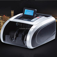 Konyee brand rechargeable bill money currency note cash banknote counter and detector