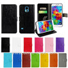 case for samsung galaxy s5 mini, for samsung galaxy s5 mini leather wallet case