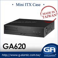 GA620 Industrial Mini ITX Computer Case with 2x PCI Slots