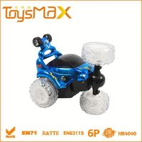 New Arrival 360 degree spinning remote control toy car with music