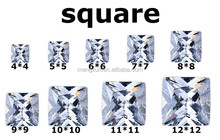 2015 hot sale natural various color cubic zircon for making jewelry