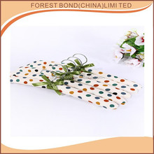 High Quality Fashion Flower Printed Satin Coat / Top / Clothes / Garment Hanger