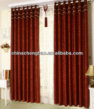 new model Flocking curtain fashion 2013