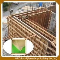 WPC Construction Concrete Shuttering / Concrete Formwork Panel