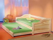 sofa kids bed comfort bed pine soild wood bedroom furniture HJB-1126