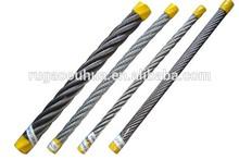 Desbrozadora de alambre de acero/cable