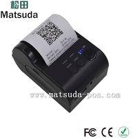 Mini Bill Printer Wireless Receipt Printer Android Phone Mobile Paper Roll