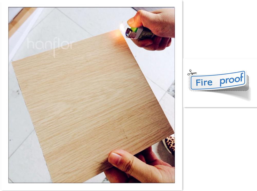 Водонепроницаемый виниловых напольных покрытий для коммерческого использования